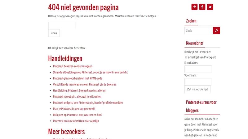 custom 404 wordpress blog