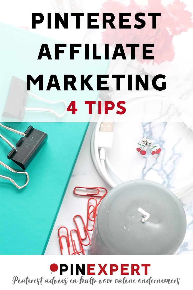 pinterest affiliate marketing 4 tips