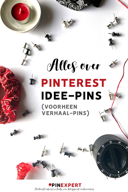 Alles over Pinterest-idee-pins (voorheen verhaal-pins).