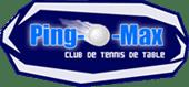 Logo Club de tennis de table Ping-O-Max
