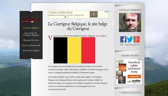 Pierre Procureur le grammairien sur Le Corrigeur Belgique