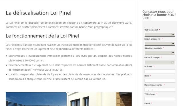 Optimiser ses impôts grâce à la loi Pinel