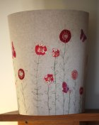 Embroidered Wastepaper Bin