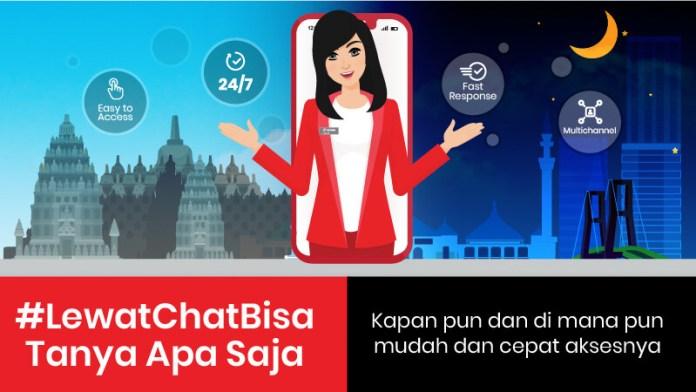 tanya Veronika asisten virtual dari Telkomsel