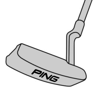 illustration of prototype blade putter