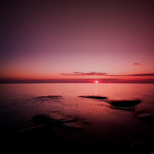 sunset or dawn