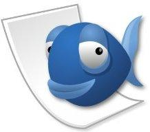Blue fish HTML editor