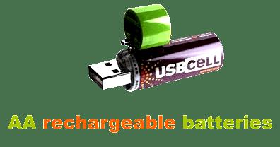 USB CELL - pile rechargeable par le port USB