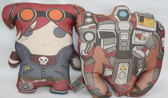 coussin borderlands 2 Gaige