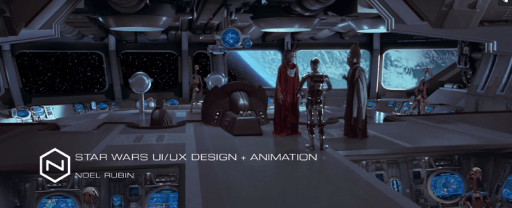 starwars - interface design