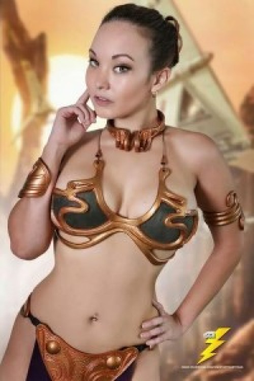 Cosplay : Leia, Slave Princess