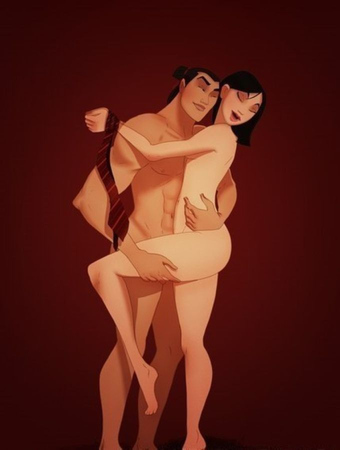 Диснеевская эротика