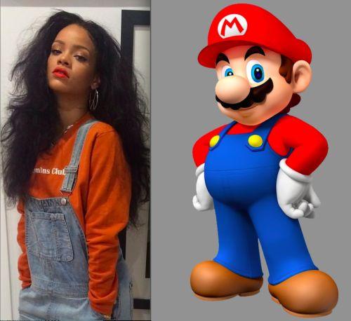Rihanna vs Mario 03