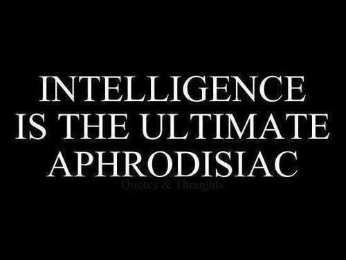 L'intelligence est le meilleur des aphrodisiaques Thumbnail for 608516