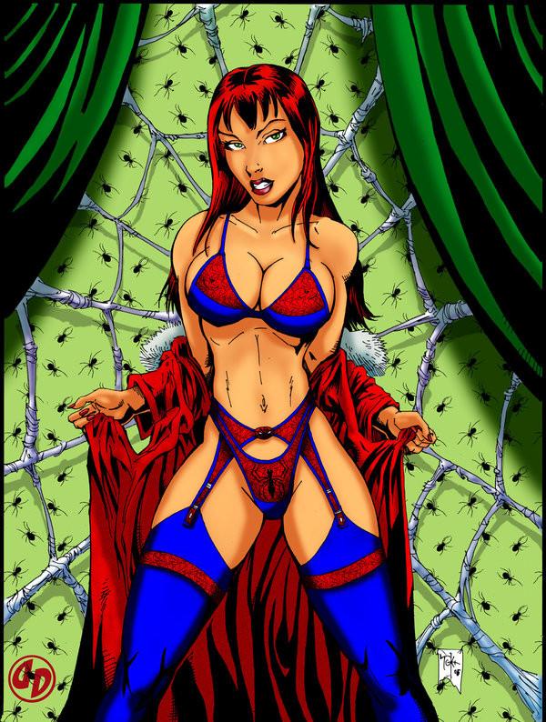 MJWATSON Spiderwoman