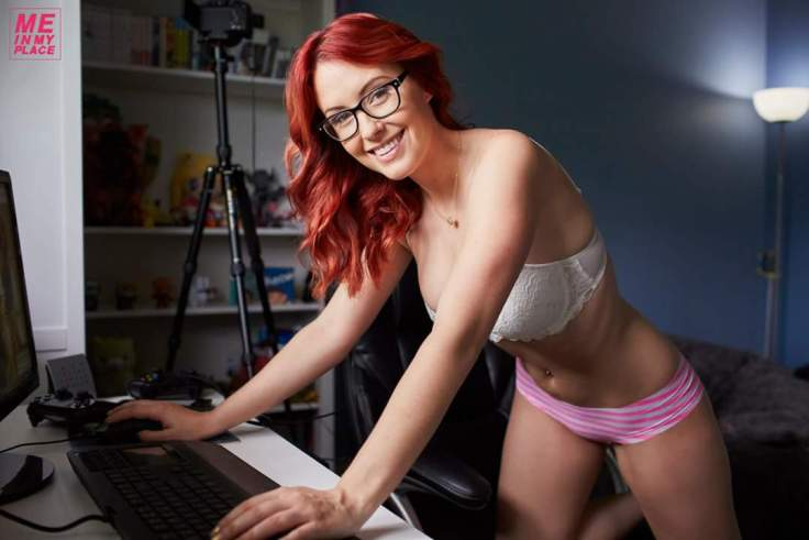Meg Turney - pink undies 03