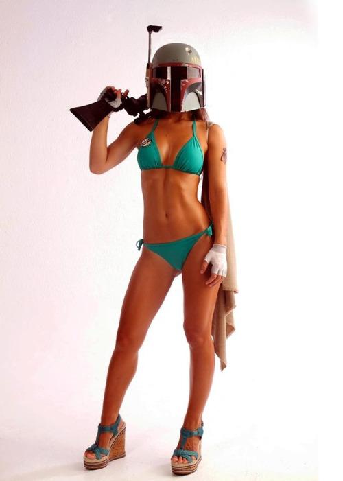boba fett bikini cosplay5