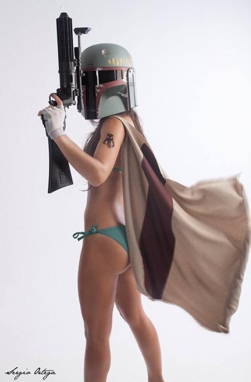 boba fett bikini cosplay7