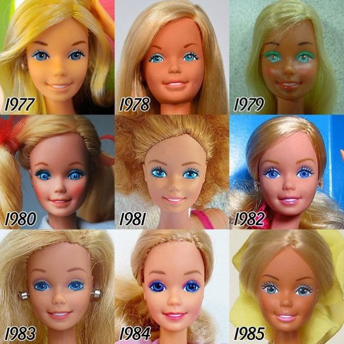 Barbie Evolution 2
