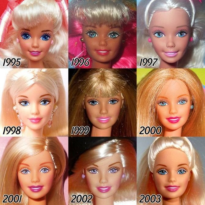 Barbie Evolution 4