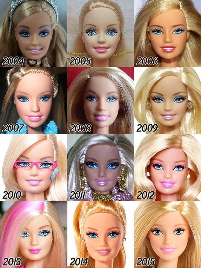 Barbie Evolution 5