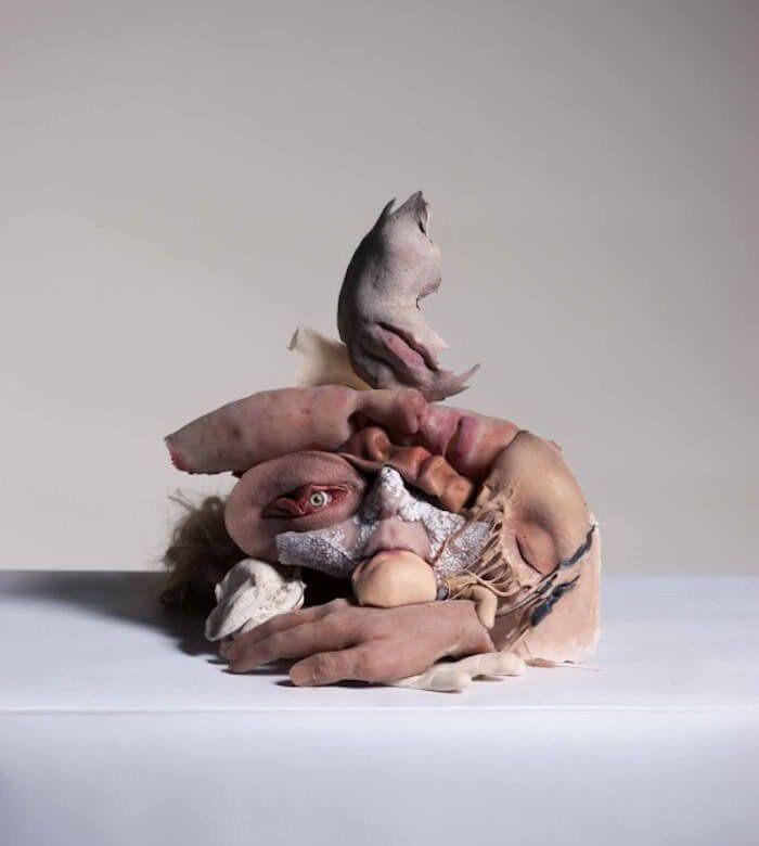 Dégoûtant sculptures de l'artiste de Los Angeles  Sarah Sitkin7