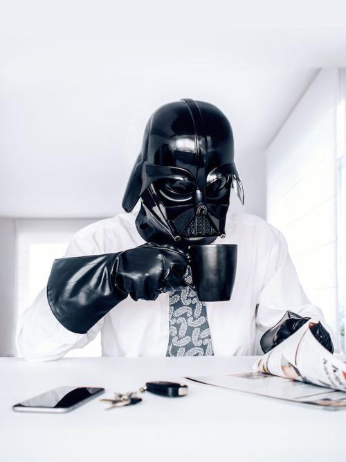 Darth Vader - le train train quotidien du coté obscur 10