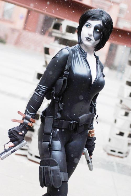 Cosplay  Domino X-Men 1