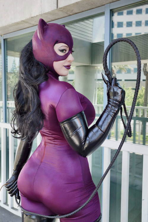 Catwoman cosplay  by Bellechere