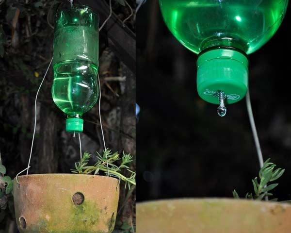 Оригинальные изделия из пластиковых бутылок
