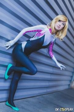 Cosplay spider Gwen (1)