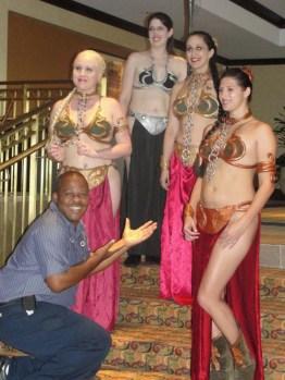 Cosplay Bikini Slave Leia (3)