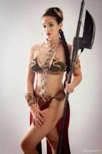 Cosplay Bikini Slave Leia (4)