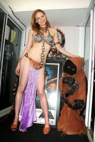 Cosplay Bikini Slave Leia (6)
