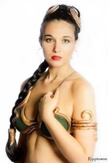 Cosplay Bikini Slave Leia (8)