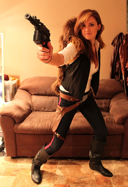 cosplay han solo