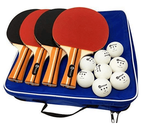 JP WinLook Ping Pong Paddle Set Review