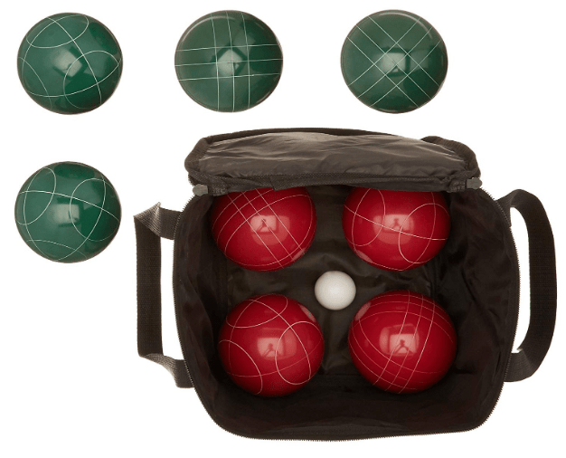 AmazonBasics Bocce Ball Set with Soft Carry Case Review