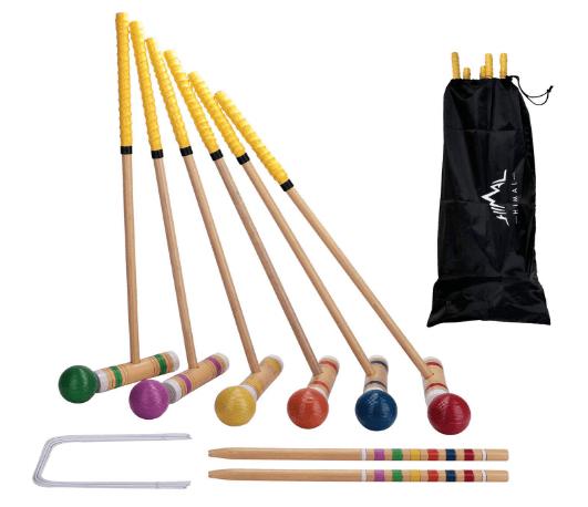Himal Premium Wooden Six Player Croquet Set Review