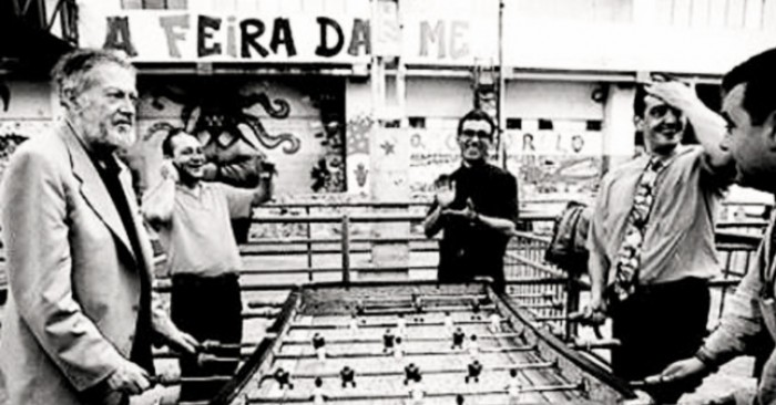 Some believe Alejandro Finisterre was the investor of Foosball