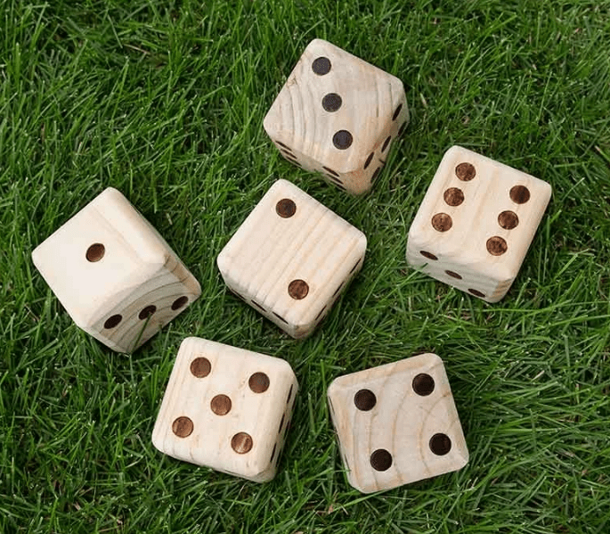Giant Yard Dice