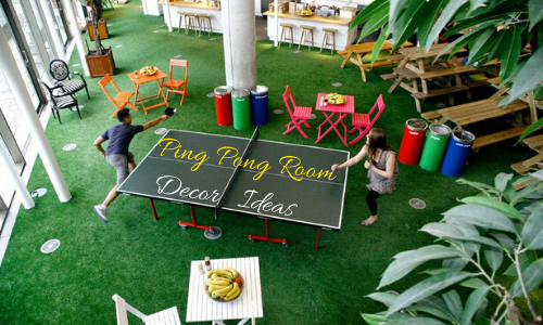 Ping Pong Room Decor Ideas