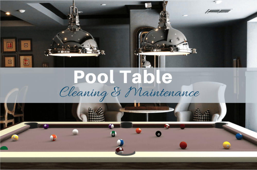 How to Clean a Pool Table