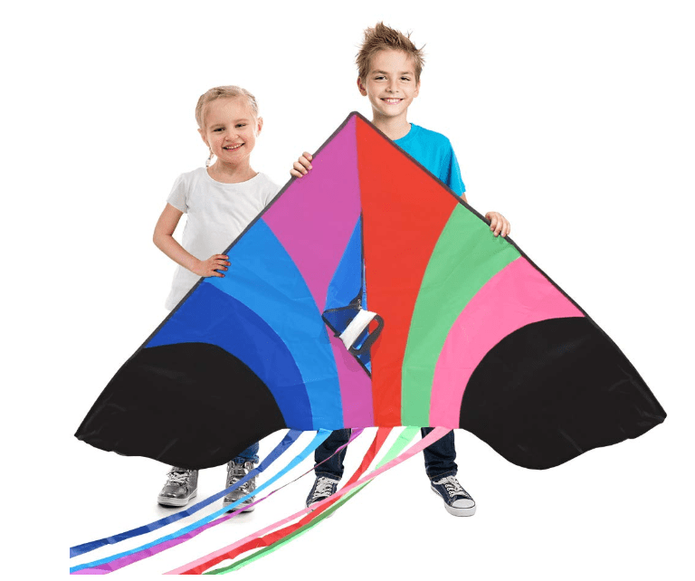 Stoie's Huge Rainbow Kite for Kids and Adults