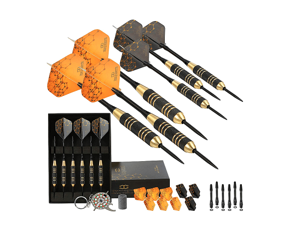 CC-Exquisite Steel Tip Darts Set