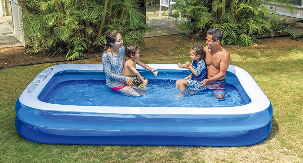 Giant Inflatable Kiddie Pool