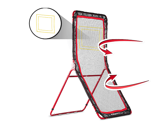 Rukket 4x7 Lacrosse Rebounder Pitchback Training Screen