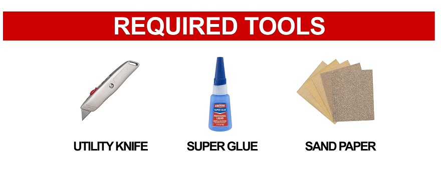 Tool Required to install cue tip