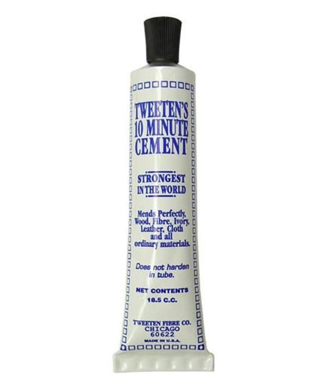 Tweeten Cue Tip 10 Minute Cement Glue