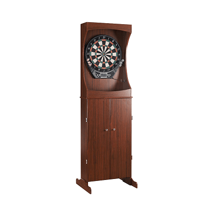 Centerpoint Solid Wood Free-standing Dartboard Cabinet